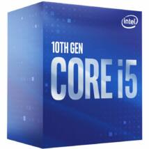 Intel Core i5-10500 3.10GHz LGA-1200 BOX Intel hűtő ventilátorral