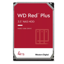 "Western Digital 4TB Red Plus SATA3 3.5"" NAS HDD"