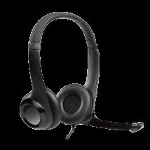 Logitech Headset H390 mikrofonos fejhallgató