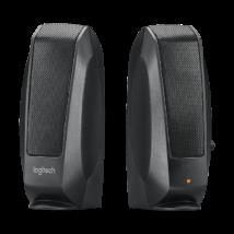 Logitech S-120 2.0 hangszóró fekete OEM