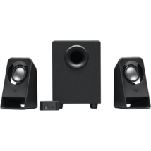 Logitech Z-213 2.1 hangszóró fekete
