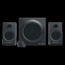 Logitech Z333 2.1 multimédia hangszórók és mélyhangsugárzó fekete