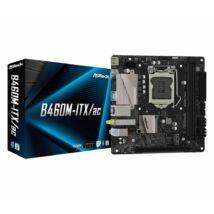 ASRock B460M-ITX/ac Intel B460 LGA1200 mini-ITX alaplap