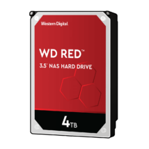 "4 TB Western Digital 3.5"" SATA-III 64MB Red NAS"
