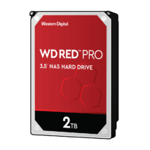 "2 TB Western Digital 3.5"" Red Pro NAS SATAIII"