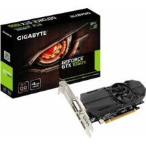Gigabyte GeForce GTX 1050 Ti OC Low Profile 4G videokártya