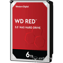 "6 TB Western Digital 3.5"" SATA-III 64MB Red NAS"