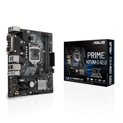 ASUS PRIME H310M-D R2.0 Intel H310 LGA1151 mATX alaplap