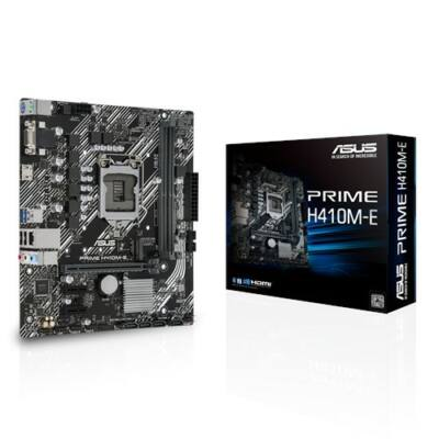 ASUS PRIME H410M-E Intel H410 LGA1200 mATX alaplap