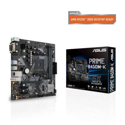 ASUS PRIME B450M-K AMD B450 SocketAM4 mATX alaplap