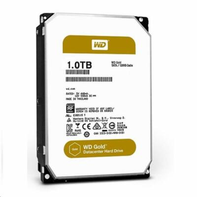 "1TB WD 3.5"" Gold Data Center SATAIII winchester"