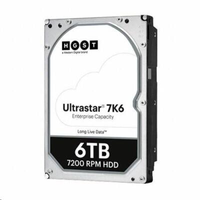 """6TB WD Ultrastar DC HC310 3.5"""" SATA szerver winchester"""