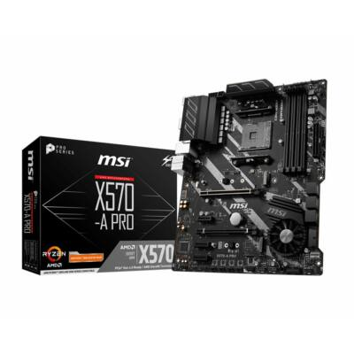 MSI X570-A Pro (X570,ATX,DDR4,AMD)