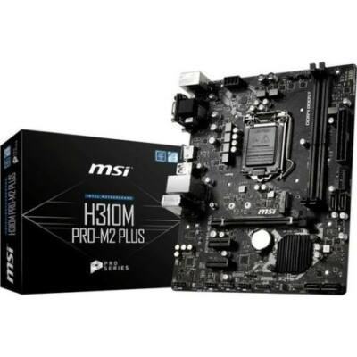 MSI H310M PRO-M2 Plus   (H310,S1151,mATX,DDR4,Intel)