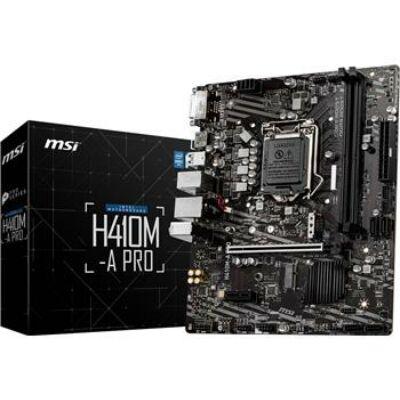 MB MSI H410M-A Pro (H410,S1200,mATX,Intel)