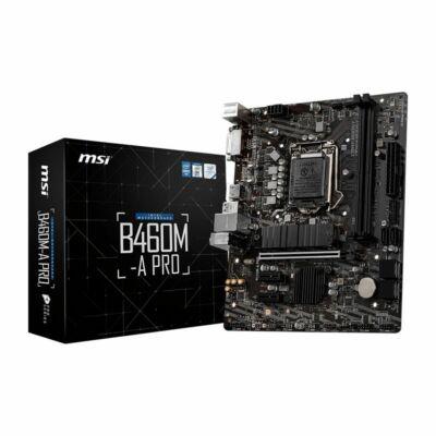 MB MSI B460M-A Pro (B450,S1200,mATX,Intel)