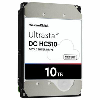 "10TB Western Digital Ultrastar DC HC510 3.5"" 7200rpm SATA szerver winchester"
