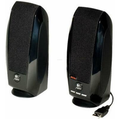 Logitech S-150 2.0 hangszóró fekete