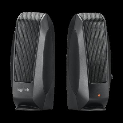 Logitech S-120 2.0 hangszóró fekete