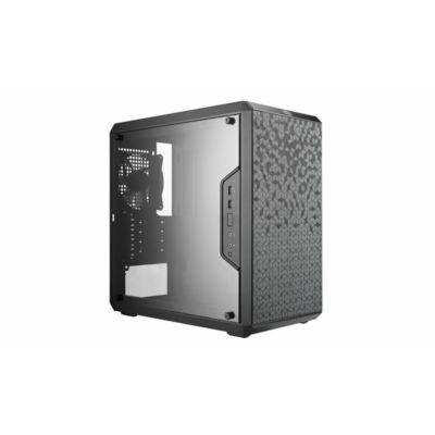 Cooler Master MasterBox Q300L táp nélküli ablakos Micro-ATX ház fekete