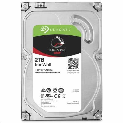 "2 TB Seagate 3.5"" IronWolf 5900rpm 64MB"
