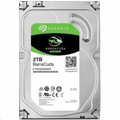 """2TB Seagate 3.5"""" BarraCuda 7200rpm 256MB"""