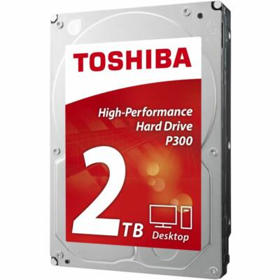 "2 TB Toshiba 3.5"" P300 7200rpm 64MB"