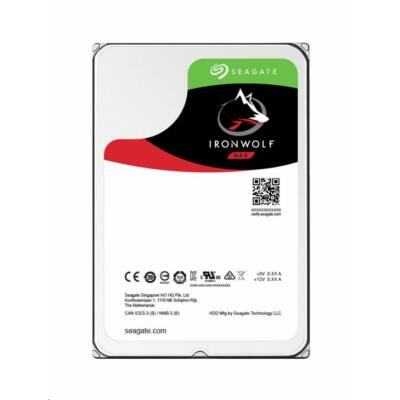 Seagate IronWolf - 3,5 HDD, 6 TB