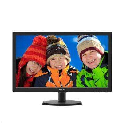 """22"""" Philips 223V5LHSB2/00 LED monitor fekete"""
