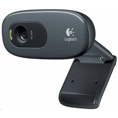 Logitech WebCam C270 HD webkamera fekete