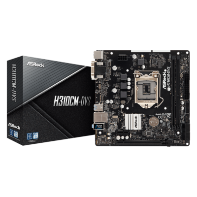 ASRock H310CM-DVS Intel H310 LGA1151 mATX alaplap