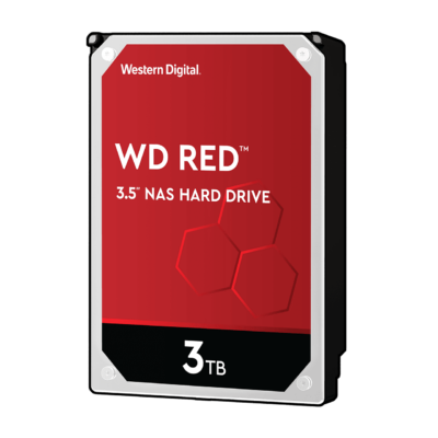 "3 TB Western Digital 3.5"" SATA-III Red NAS"
