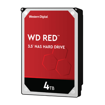 "4TB Western Digital 3.5"" SATA-III 64MB Red NAS"