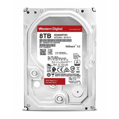 Western Digital Red Pro 3.5 8TB 7200rpm