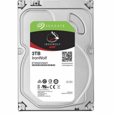 "3 TB Seagate 3.5"" IronWolf 5900rpm 64MB"