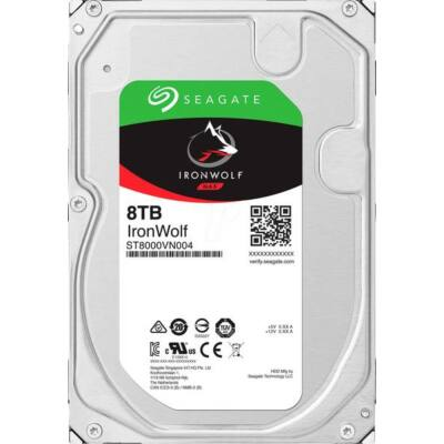 "8 TB Seagate 3.5"" IronWolf 5900rpm 256MB"