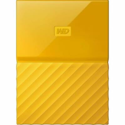 Western Digital My Passport, 1TB USB 3.0, Sárga